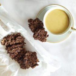 Ciasteczka bez pieczenia mocno czekoladowe przepis A.M.Bernatowicz dietetyk