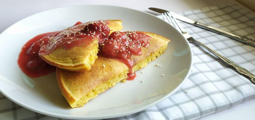 Zdrowy omlet na słodko - szybki bez ubijania - bernatowicz agnieszka zaowocuj zdrowiem dietetyk online nowa sól przepisy zdrowe gotowanie