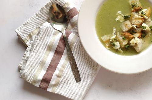 zupa porowa krem z serkiem topionym - bernatowicz agnieszka zaowocuj zdrowiem dietetyk online nowa sól przepisy zdrowe gotowanie